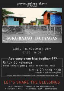 ICFPeduli goes to Batangas @ Suku Bajao, Batangas
